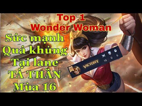 Top 1 Wonder Woman | Đối đầu Emily tại lane Tà Thần và cái kết... | Liên Quân Mobile