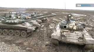 tank duel of modernized t 72 bm tanks video from the firing range
