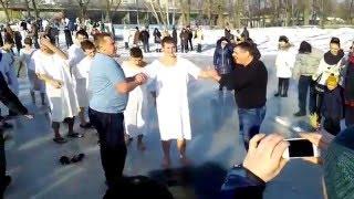 водное крещение. Церковь