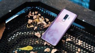 Mở Hộp Galaxy S9 Plus chính hãng - Tím tử đinh hương