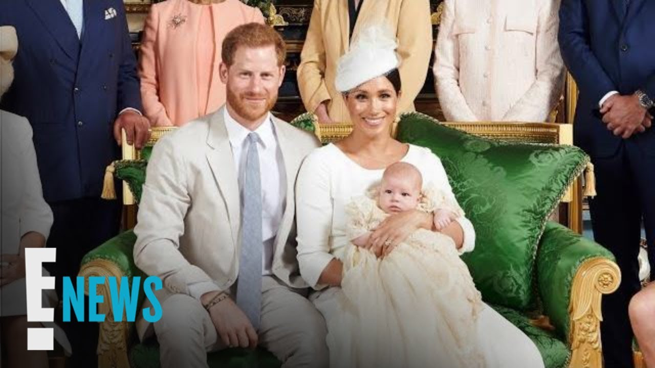 Prince Harry and Meghan Markle Share Christening Photos of Archie