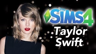 The Sims 4 模擬市民4: Taylor Swift 泰勒絲/ 創建人物