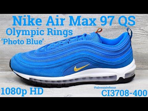 Nike Air Max 97 Qs Olympic Rings Pack Photo Blue Ci3708 400