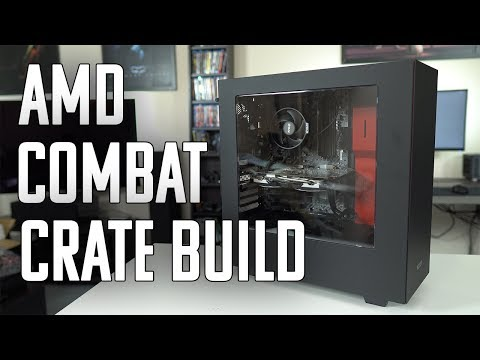 AMD Combat Crate: Unboxing & Gaming Build
