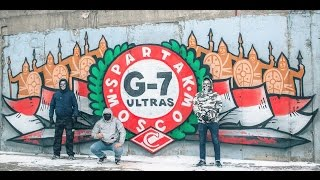 G-7 ULTRAS (SPARTAK MOSCOW) | 10 ЛЕТ В ДЕЛЕ | ULTRAS | PYRO | PYROSHOW