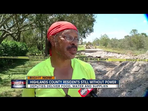 Highlands County power out