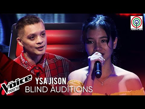 Ysa Jison - Isa Pang Araw | Blind Audition | The Voice Teens Philippines 2020