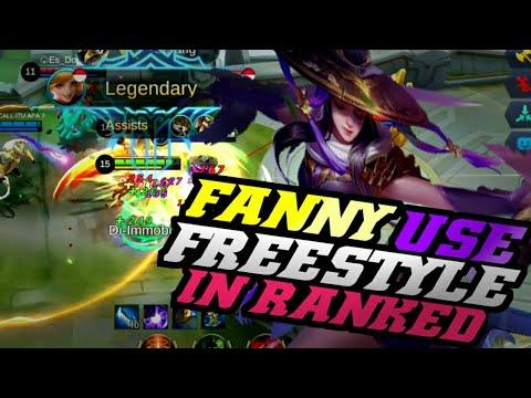 FANNY USE FREESTYLE GAMEPLAY   Mobile Legends Bang Bang thumbnail