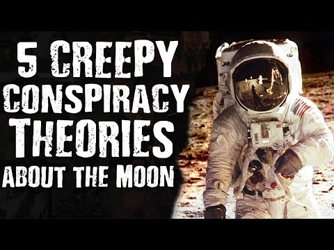 5 CREEPY CONSPIRACY Theories about the MOON Mp3