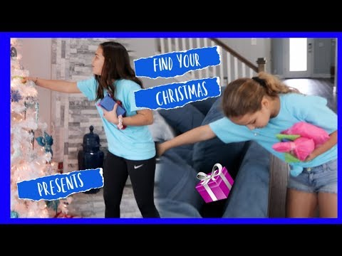 """FIND YOUR CHRISTMAS PRESENTS CHALLENGE """" SISTER FOREVER"""""""