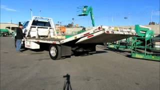 Sold! 2005 Ford F-650 XL 20' Rollback Pro Loader Diesel Tow Truck bidadoo.com