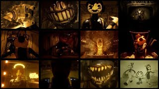 Download BENDY AND THE INK MACHINE CHAPTER 1-5 ALL CUTSCENES Mp3 and Videos