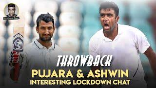 Ashwin and Cheteshwar Pujara Fun Chat | Gabba Test Match | Ind vs Aus | #Throwback #Ashwin