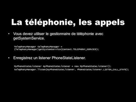 Comment intercepter les appels téléphoniques sur Android ? [Telephony_Calls] (Android Lab Test)