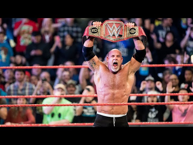 Goldberg's greatest moments: WWE Playlist