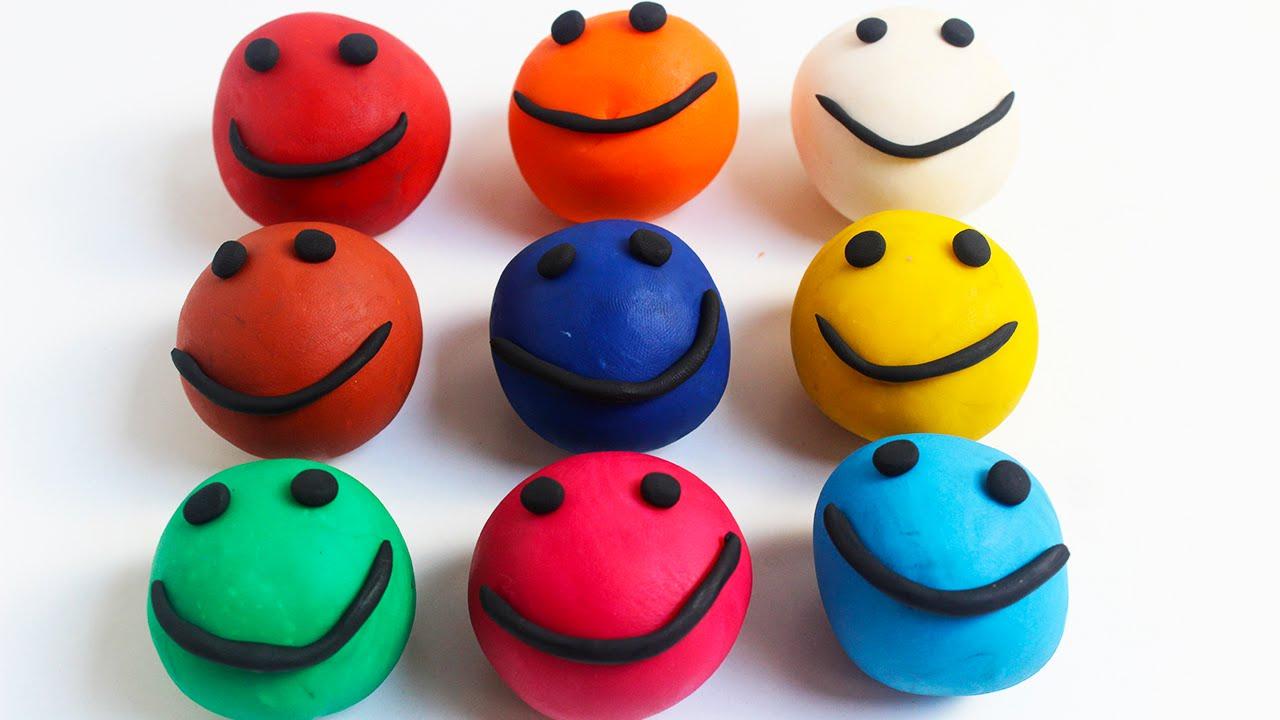 Colores con play doh plastilina juegos creativos para - Juegos con ninos en casa ...