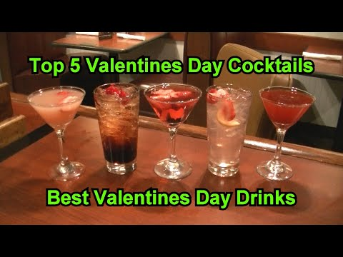 Top 5 Valentines Day Cocktails Best Valentine's Day Easy Drink