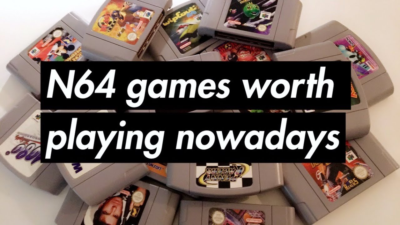 20 Super Rare Nintendo 64 Games Worth A Fortune (And 10 ...