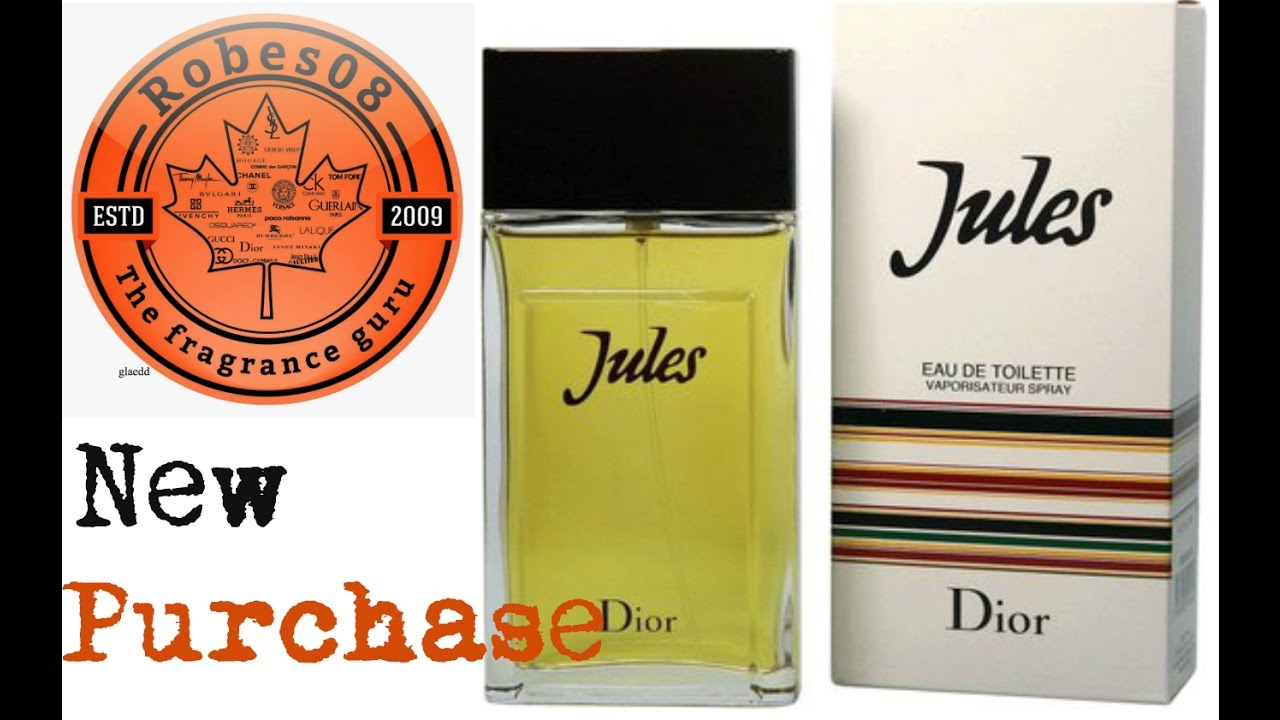 New Purchase: Jules by Christian Dior (2016)