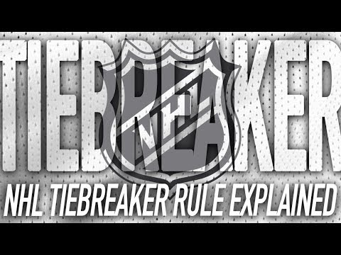 NHL Tie Breaker Rules Explained