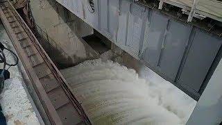 Стрим 63.ru ГЭС — пробный сброс воды