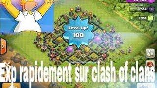 [TUTO]Clash of clans - 3 façon d'EXP rapidement sur clash of clans