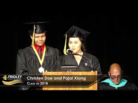 Fridley High School's 60th Commencement: Class of 2018