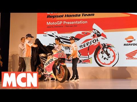 Repsol Honda unveil 2017 bike in Indonesia | Sport | Motorcyclenews.com