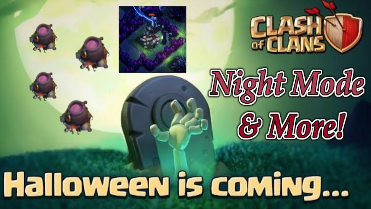 Clash of Clans - NEW 2015 HALLOWEEN UPDATE Ideas - Halloween ...