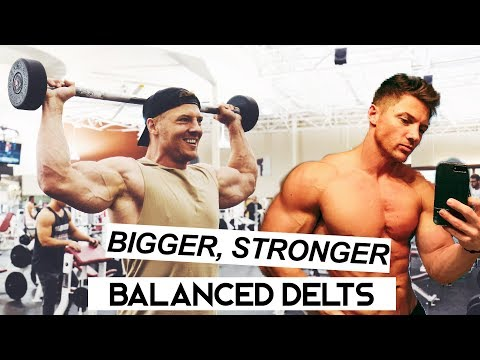 Complete Shoulder Workout | Bigger, Stronger & more Balanced shoulders