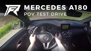 2015 Mercedes-Benz A180 - POV Test Drive
