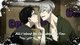 victuuri all i want for christmas is you amv   yuri on ice