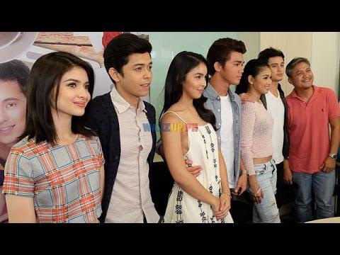 Part 1 Bloggers Conference Para Sa Hopeless Romantic James Nadine Lustre Inigo Julia Shy AJ