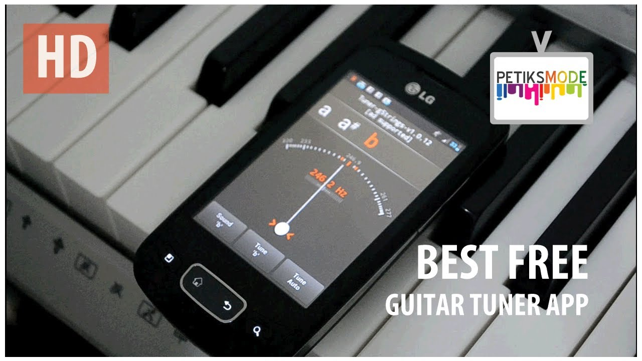Best Free Guitar Tuner App Youtube