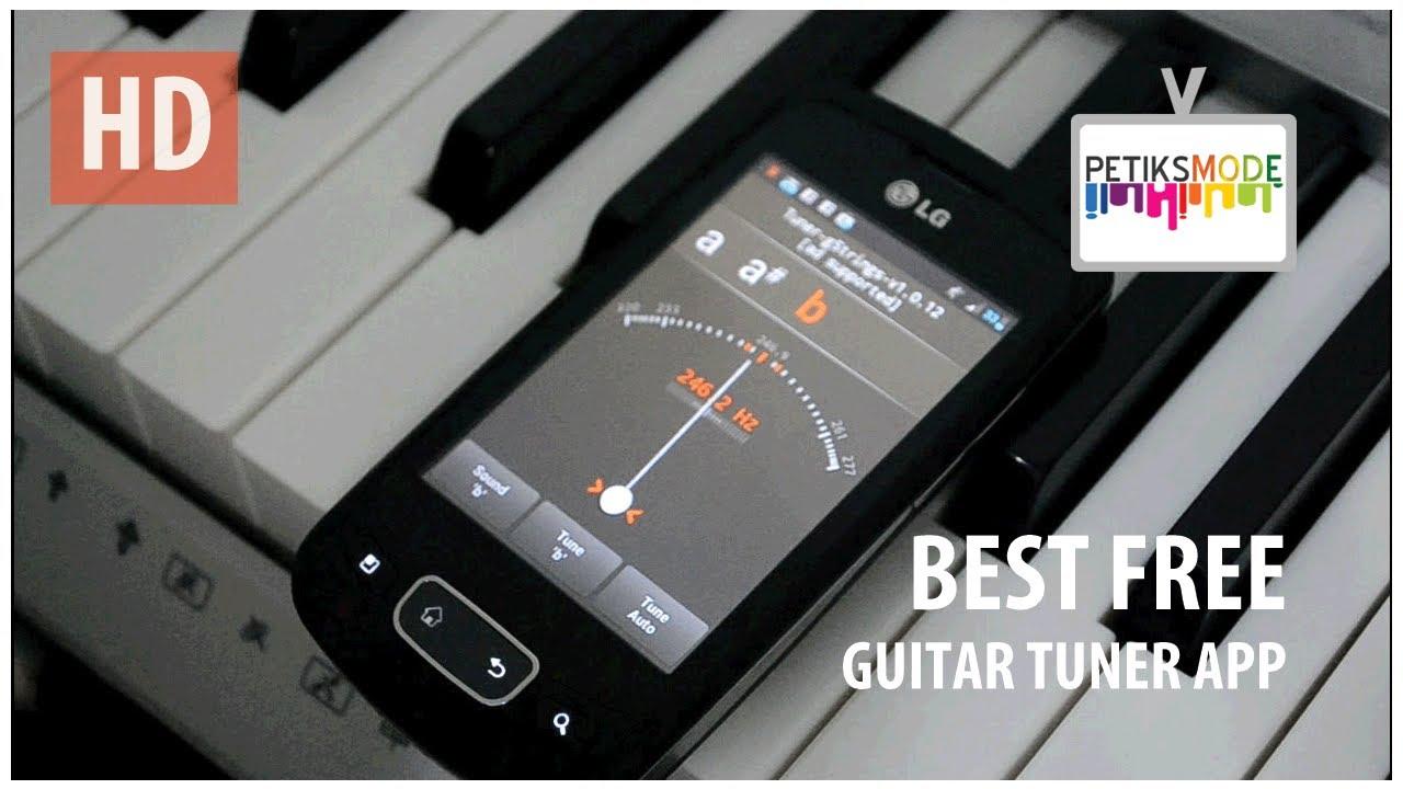 Best Free Guitar Tuner App - YouTube