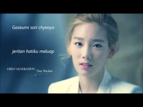 taeyeon girls generation - can you hear me (romanization + indo sub)