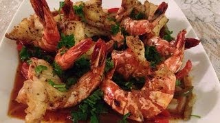 Recette -GAMBAS TROPICALE