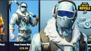 NEW DEEP FREEZE BUNDLE & SQUADS WITH SUBSCRIBERS  (Fortnite Battle Royale)