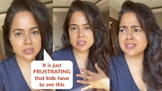 Sameera Reddy CRYING on Video About Kids Facing Lockdown and Quarantine