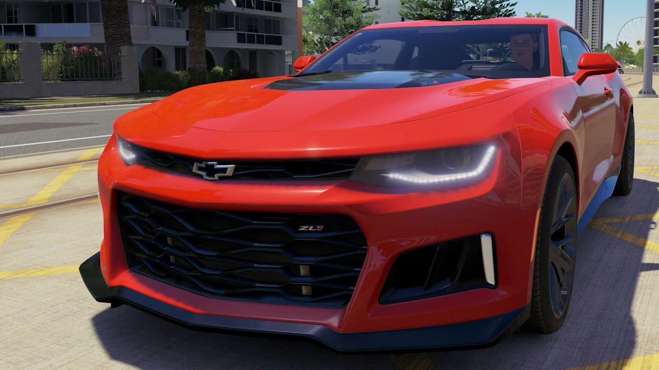 Chevrolet Camaro Zl1 2017 Forza Horizon 3 Test Drive