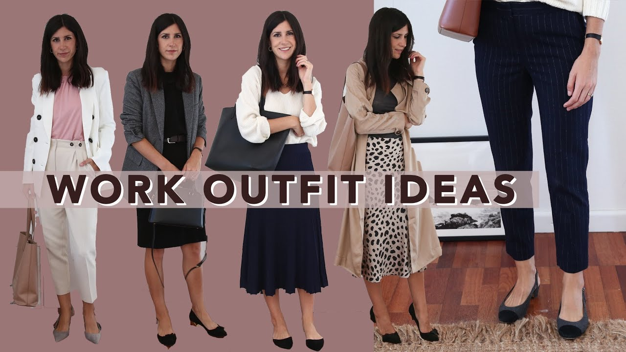 TRANSITIONAL WORKWEAR OUTFIT IDEAS - 10 Autumn & Spring Style Office Outfits | Mademoiselle 4