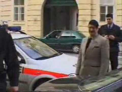 Adolf Hitler in Austria. Funny, Fake adolf