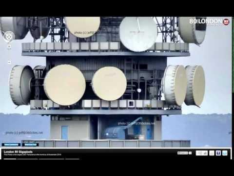 панорама Лондона 80 Гигапикселей с рабочего стола 720p)