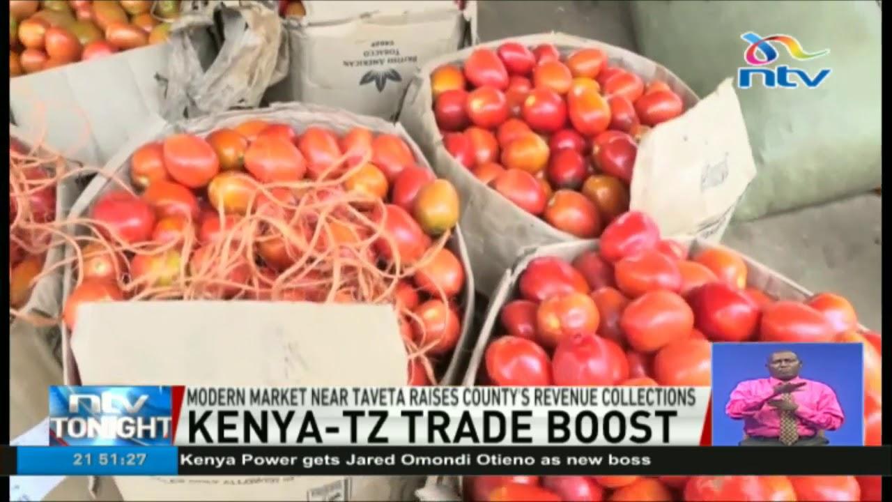 Modern Market At Taveta Tanzania Border Raises County S Revenue Collections