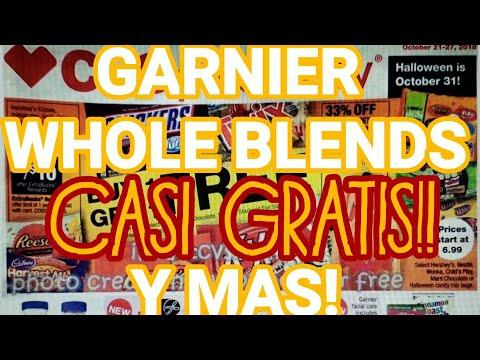 GARNIER CASI GRATIS!! | Circular CVS semana 10/21/18 - 10/27/18