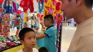 Đi Xem Lồng Đèn cùng Gia Đình Lý Hải Minh Hà