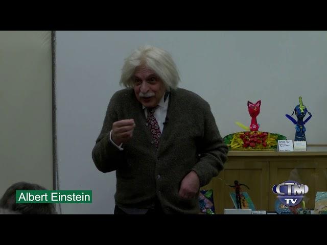 Library Hour:  Albert Einstein, Relatively Speaking – March 14, 2019