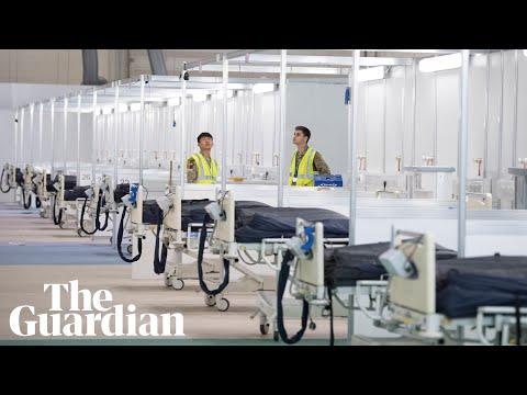 NHS Nightingale: inside