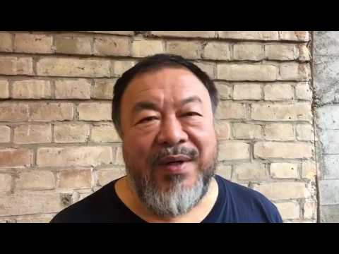 Ai Wei Wei on his new projects, Berlin, November 2016