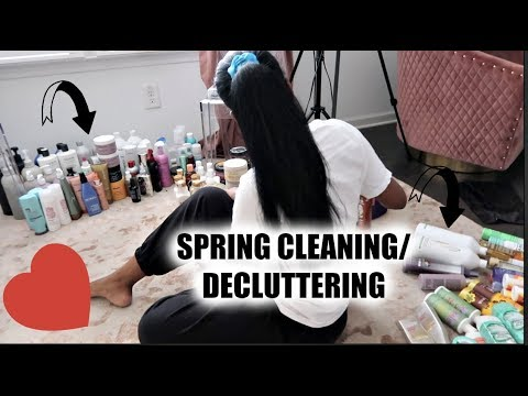 SPRING CLEANING & DECLUTTERING!